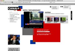 2007-10-25 Canal + ZAPPING