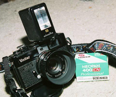 Just got a Minolta 7SII clone, Vivitar 35ES - Dyxum