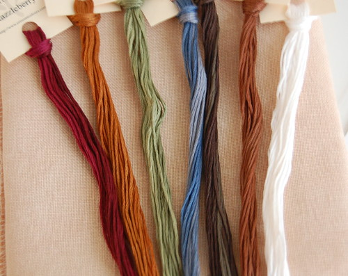 Crescent Colours Threads for Home of a Needleworker.