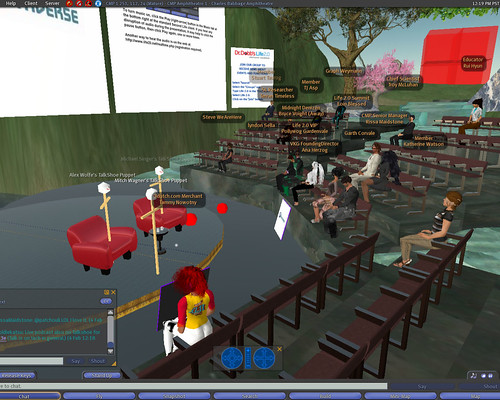 InformationWeek Live in Second Life
