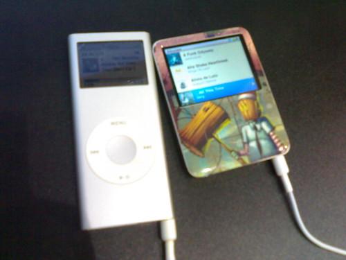 iPod nano vs iPod nano