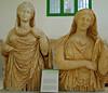 Escultures funeràries que potser representen Persèfone o l'ànima, Museu de Cirene
