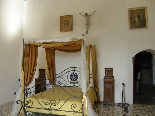 Recreated Castle Bedroom