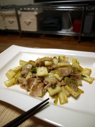 040 豚肉と白菜の炒め