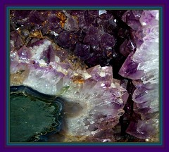 Amethyst Geode (Heart Windows Art) Tags: new city brazil rocks crystals natural crystal jerusalem foundation precious bible sensational amethyst geode heavenly verse gemstone rockhound colorphotoaward twelvth clevercreativecaptures revelation2120 inspiks|inspirationalpictures