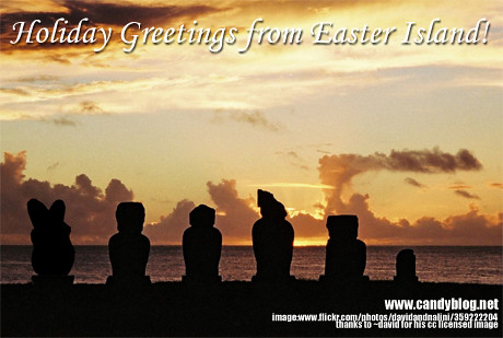 ~david Easter Island Sunset Greetings (460)