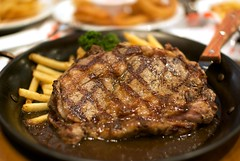 US Rib Eye Steak @ WOLFGANG PUCK
