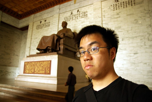 Chiang Kai-shek statue & Cedric