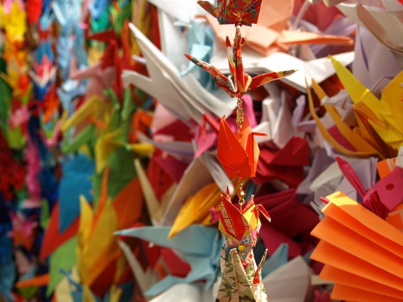 origami cranes (2)
