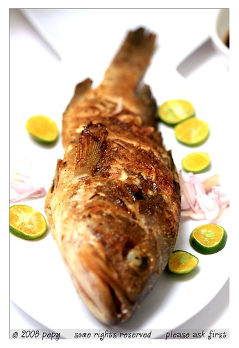 Candlenuts grilled fish 3