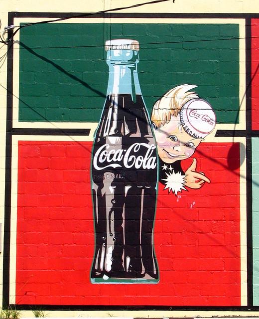 retro Coke Mural - Lebanon, TN