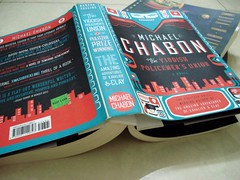 28 Apr 08 The Yiddish Policemen's Union by Michael Chabon (black_coffee_blue_jeans) Tags: fiction reading book michael reader review books bookshelf hobby read shelf cover novel covers bookcover hobbies bookshelves shelves bookcovers reviews novels michaelchabon bookreview chabon bookreviews theyiddishpolicemensunion