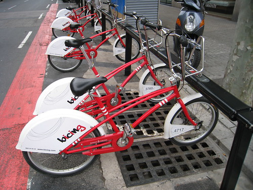 """Bicing"" shared bicycles"