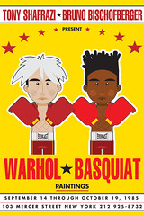 Warhol + Basquiat (francescoporoli) Tags: illustration basquiat warhol vektor
