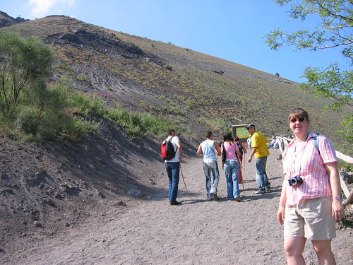 Trail up Vesuvius