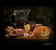 Pane, vino e fantasia - Bread, wine and fantasy (- Gigapix -) Tags: stillli