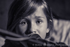 IMG_0034 (nikkicrockett) Tags: children kids music artist gifted blessed talented singer songwriter she blackandwhite