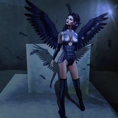 Raven Deux (Carmy Mirabeau aka Carmilla Mirabeau) Tags: katat0nik emotions swallow lhomme genesislab eva reckless lassitude ennui lyba lfleforme lassitudeennui ikon rivendelle anlarposes thecoven maitreya