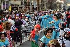 Inauteriak 2017. Irungo konpartsen desfilea.