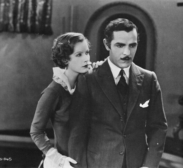 Greta Garbo and Antonio Moreno