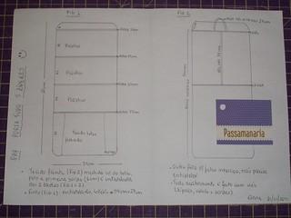 PAP porta-tudo 5 zíperes (2 lados)