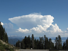 Storm South of Lake Tahoe