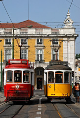 Trams in Lisbon (gornabanja) Tags: city red portugal yellow nikon d70 lisboa lisbon transport tram lissabon artcafe supershot flickrsbest bej passionphotography mywinners abigfave anawesomeshot holidayvacanzeurlaub superbmasterpiece diamondclassphotographer flickrdiamond ysplix flickrphotoaward flickrelite theunforgettablepictures excapture ilustrarportugal goldstaraward srieouro worldglobalaward globalworldawards lpvehicles