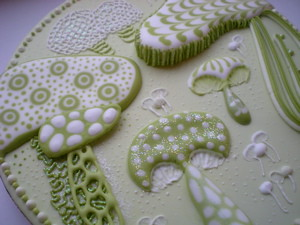 Royal Icing Project -Mushroom 1
