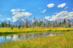 Grand Teton Schwabaucher's Landing [HDR][DSC_4006_7_8] (dayuantung) Tags: nationalpark sigma grandteton hdr schwabaucherslanding sigma1020hsmdc