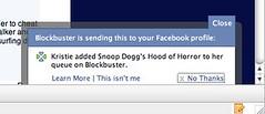 Facebook Beacon Notification