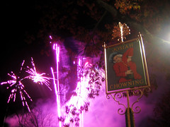 Fireworks in Colonial Williamsburg