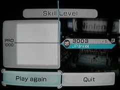 WooHoo! 3003 in Wii Boxing!