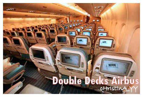 Singapore Airline A380 Double Decks Airbus