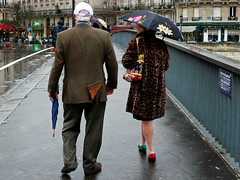 The Dedicated Followers Of Fashion (an untrained eye) Tags: paris france colour topv111 topv555 topv333 candid topv1111 topv999 streetphotography topv222 eccentric topv777 fashionvictim leopardprintcoat interestingness149 onlyinparis unmatchingshoes anuntrainedeye explore11dec07