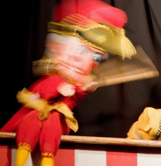 Mr Punch...still at large