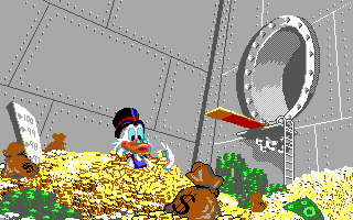 Scrooge McDuck Money Pool