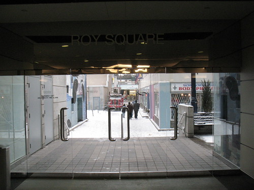 Roy Square Subway Exit