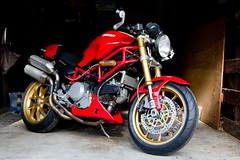 IMG_0068 (100% Beef) Tags: monster ducati desmo ducatimonster s2r ohlins ducatis2r marchesini