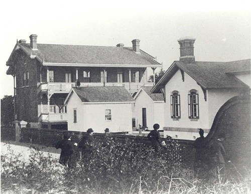 St. Augustine Keepers' Quarters prior to 1880