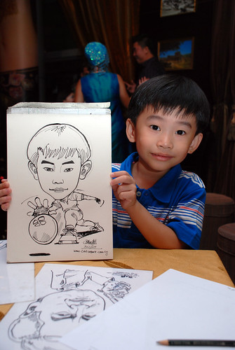 Caricature bithday party 311207 1