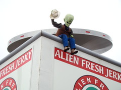 Alien Fresh Beef Jerky Baker, Ca (perfectlymadebirds) Tags: world show las vegas pakistan art cars video artist tech expo nevada wide computers exhibit palm robots international electronics springs pakistani starfleet tvs gadget ces innovation custom kenny 2008 audio newly released irwin consumer invention prototypes pathan perfectlymadebirds largests cunsumer