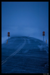 "Vegurinn (""The Road"") (IvarPeturs) Tags: road snow weather iceland sland snjr veur vegur flickrphotoaward"