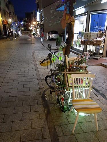 椅子と自転車