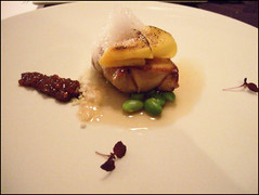 Bacchus (London) - Poached foie gras