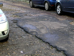 Last of the tarmac (sue tortoise) Tags: urban river walk hill railway coton severn shrewsbury greenfields
