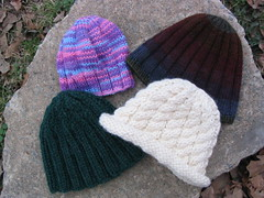 Hand Knit Caps