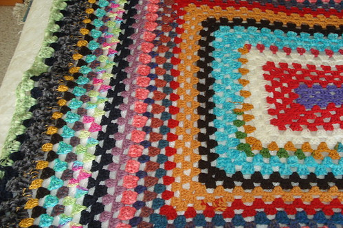 large granny blanket cross section