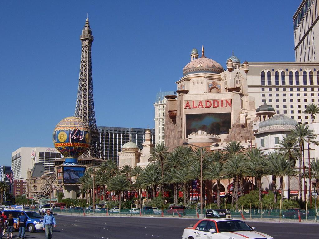 The former Aladdin Hotel & Casino