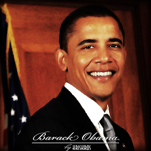 barack obama digitized reworked
