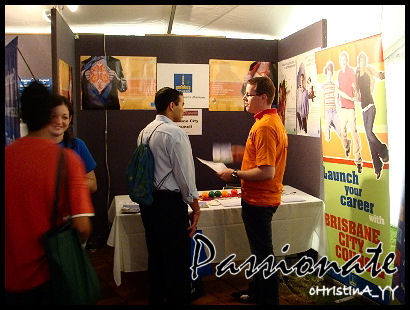 USQ Career Fair: Passionate